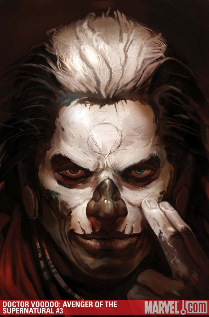 Doctor Voodoo #3 cover