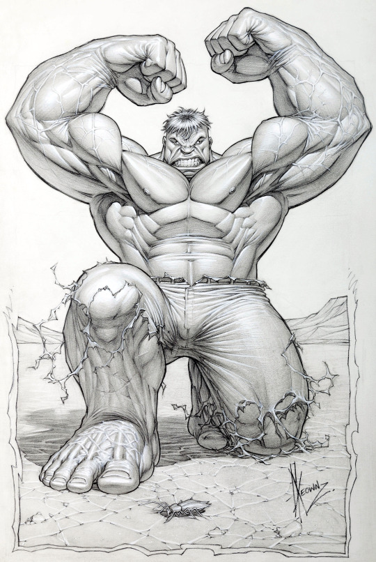 The Hulk by Dale Keown