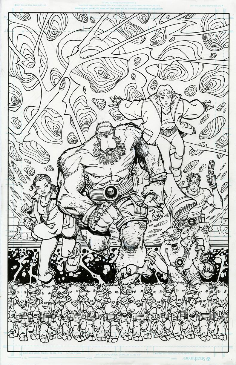 The Perhapanauts by Walt Simonson