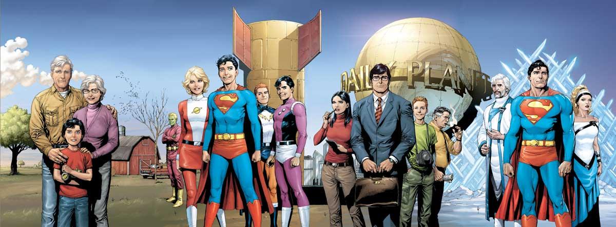 Superman: Secret Origins covers