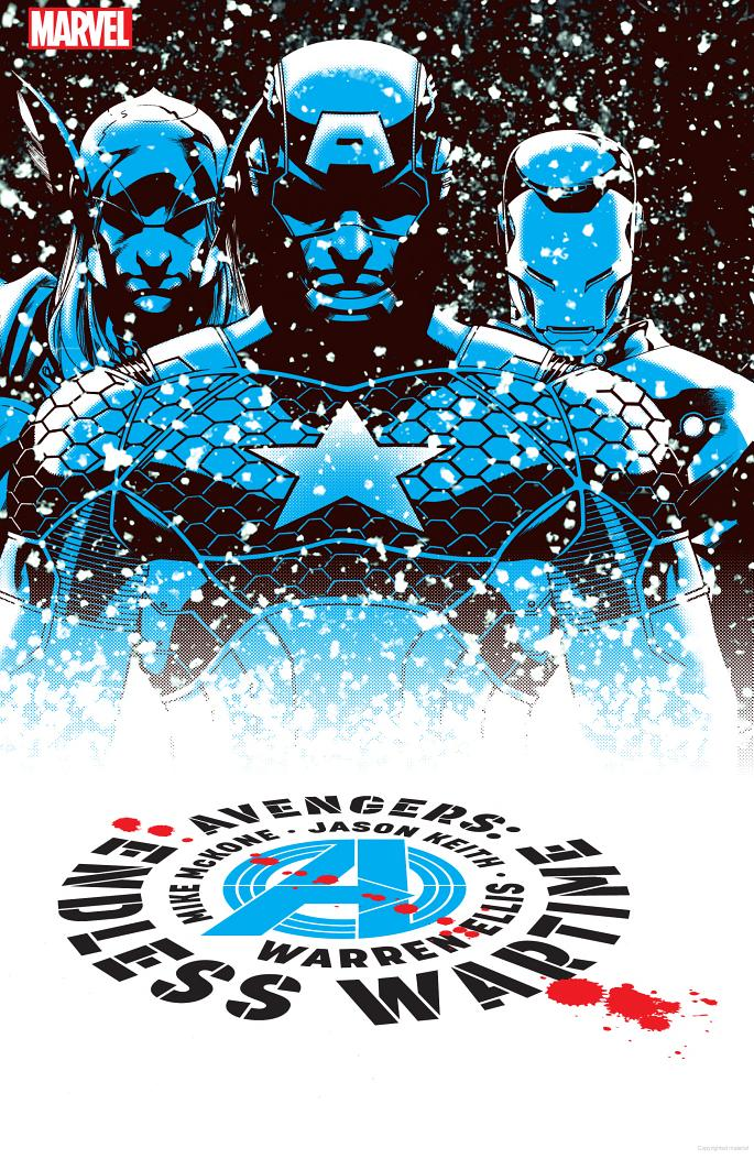 Avengers: Endless Wartime cover by Mike McKone