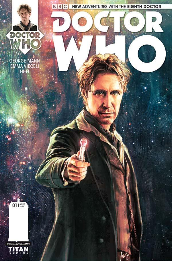 Cover for Doctor Who: The Eighth Doctor #1