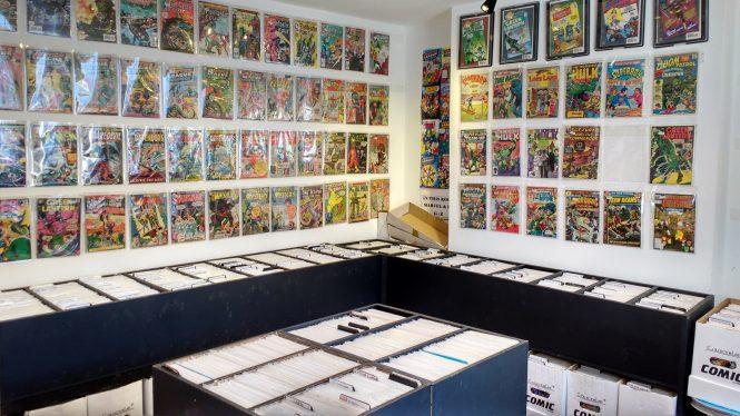 Dave's Comics Interior